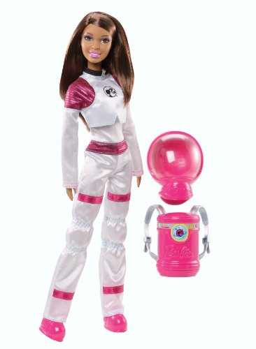 Barbie I Can Be Space Explorer African-American Doll