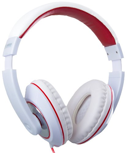 Eco Stereo Headphones With In-Line Mic For Smartphones - Retail Packaging - White