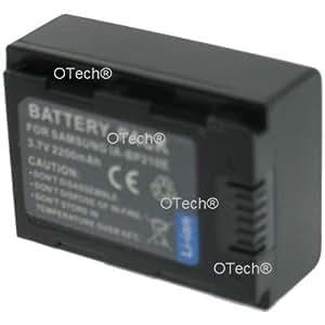 Otech C071SB Batterie pour Caméscope de type Samsung IA-BP210E 3,7 V Li-Ion 2200 mAh