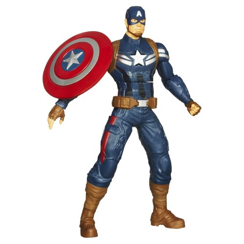 Captain America Shield Throwing 10″ Electronic Action Figure