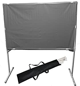 Rear Screen Projection Screen Material with Stand and Carry Case 60