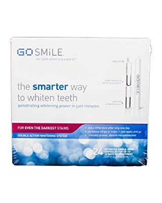 Go Smile Double Action Whitening System 12-day Kit , 24 Count