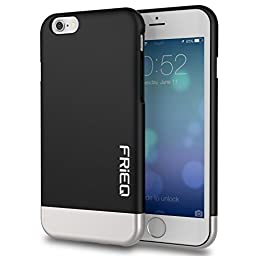 iPhone 6 Case, FRiEQ Dual Layer Protection Slim Trendy Hard Case for Apple iPhone 6 (4.7\