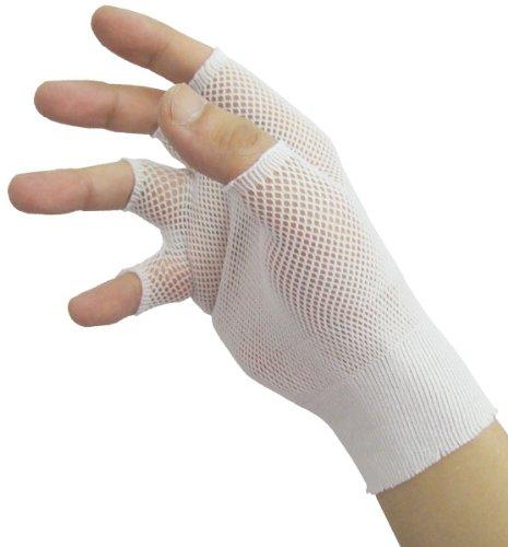 リーブル 使い捨て手袋用メッシュ式インナーグローブ インナーフィット No.650 指切りタイプ フリーサイズ 10双入 336059700