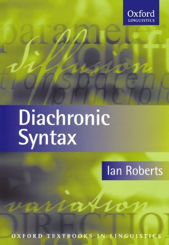 Diachronic Syntax (Oxford Textbooks in Linguistics)