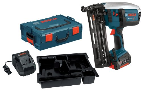Bosch FNH180KL-16 18-Volt Lithium-Ion 16-Gauge Finish Nailer Kit with 1 High Capacity 4.0Ah Battery, Charger and L-BOXX-2 (Bosch 1 16 compare prices)