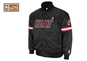 Miami Heat Mitchell & Ness Backup Satin Jacket by Mitchell & Ness