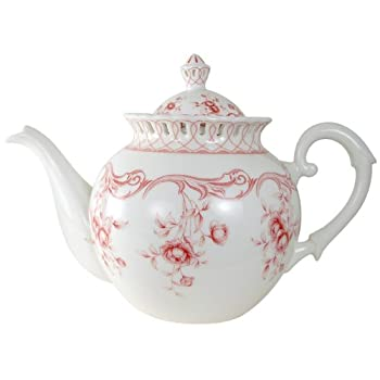 Pink Vine Teapot