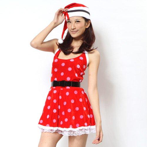 【ワールド☆コスチューム】 サンタコスチューム / コスプレ サンタ クリスマス Xmas 【glb022】