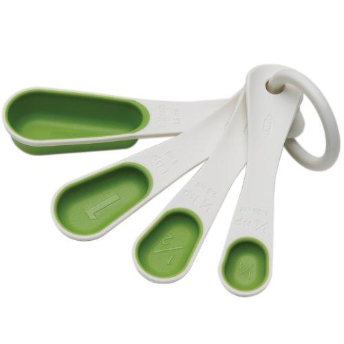 Chef'n SleekStor Nesting Spoons, Arugula Color