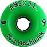 Abec 11 Flashbacks 70MM 81A Skateboard Wheels (Set of 4)
