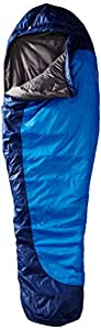 Marmot Trestles 15 Long Synthetic Sleeping Bag, Long-Right, Blue