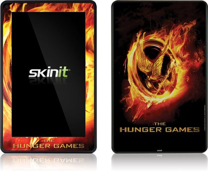 Skinit The Hunger Games Logo Vinyl Skin for Amazon Kindle Fire
