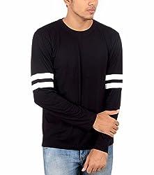Younsters Choice Men's Cotton T-Shirt (YC-5804_Black_X-Large)