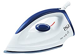 Orpat OEI 187 1200-Watt Dry Iron (White and Blue)