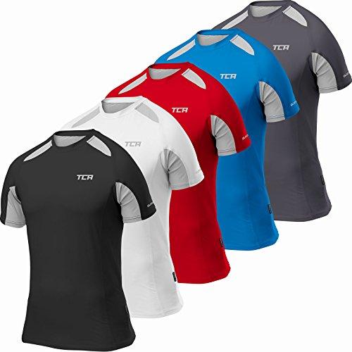 thorogood-sports-chemise-haute-performance-manches-courtes-quick-dry-bleu-m