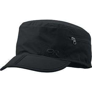 Outdoor Research Men's Ferrosi Radar Cap, Small/Medium, Black
