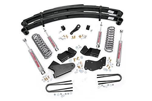 Rough Country - 480.20 - 4-inch Suspension Lift System w/ Premium N2.0 Shocks (Rough Country Ranger compare prices)