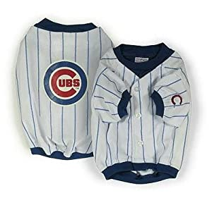 Sporty K9 Chicago Cubs Baseball Dog Jersey Xx-small from Sporty K9, Ltd.