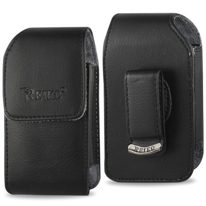Vertical Leather Case for Kyocera Dura XV, Dura XA with Swiv
