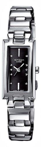 Casio Casio Collection Damen SHN-4007D-1AEF - Reloj de mujer de cuarzo con correa de acero inoxidable plateada