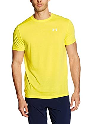 Under Armour Camiseta Técnica Threadborne Streaker (Amarillo)