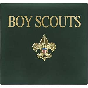 k company boy scouts of america metal emblem scrapbook 12 inch by 12 inch boy scouts. Black Bedroom Furniture Sets. Home Design Ideas