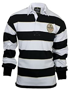 Guinness Black, White & Cream Label Rugby-Small