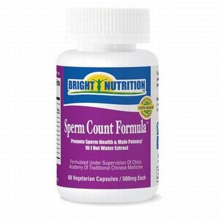 Sperm Count Formula - 60 Vegetarian Capsules