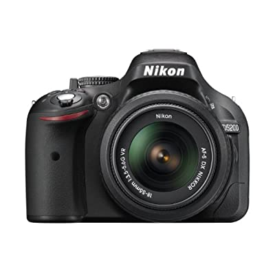 Nikon D5200 24.1MP Digital SLR Camera with 18-55mm VR Lens