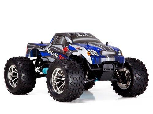Redcat Racing Volcano S30 Nitro Truck, Blue, 1/10 Scale (Volcano Sv Transmission compare prices)