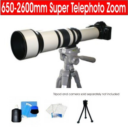 Rokinon 650-2600Mm Super Telephoto Zoom Lens For Sony Alpha Mount