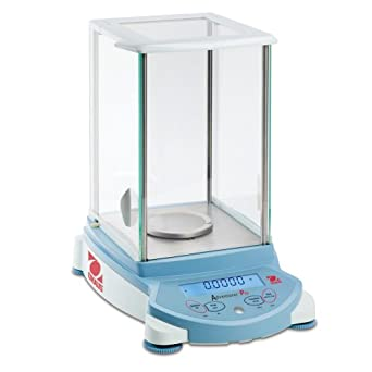 Ohaus Adventurer Pro Electronic Balance, with Frameless Square Draftshield, 260g Capacity, 0.1mg Readability