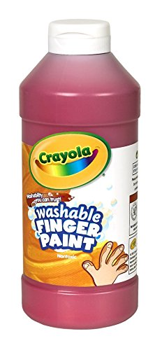 Binney & Smith Crayola(R) Washable Finger Paint, 16 Oz., Red