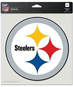 """... Pittsburgh Steelers Die-Cut Decal - 8""""x8"""" Color : Sports & Outdoors"""