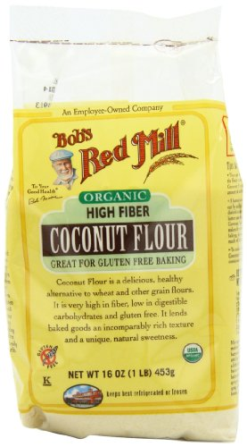 Bob's Red Mill Organic Coconut Flour, 16-Ounce Units (Pack of 4) by Coconut
