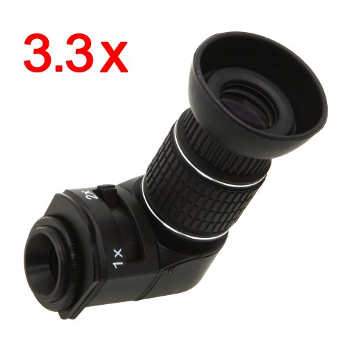 3.3X Zoom Right-Angle Viewfinder Screen Magnifier For Nikon Fx D700 D800 D800E D3 D3S D3X D4