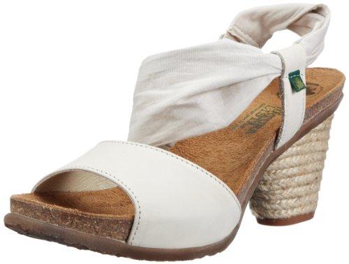 El NaturalistaN792 DESERT WHITE / SENDA - Scarpe con Tacco Donna , Bianco (Weiss (White)), 37