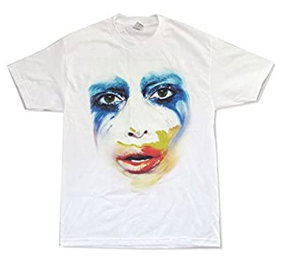 Lady Gaga Applause Tour Artpop Artrave Adult White T Shirt