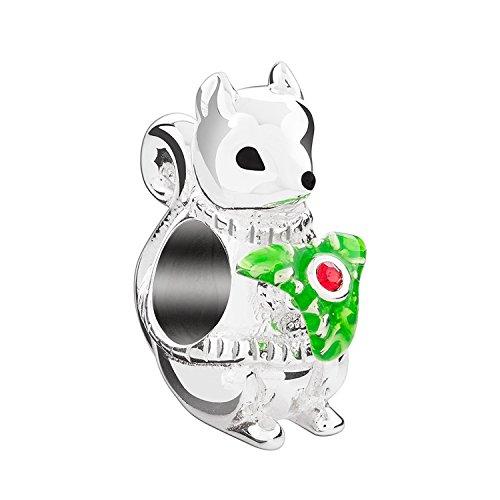 Authentic Chamilia Charming Squirrel 2025-1670