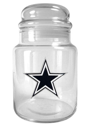 Nfl Dallas Cowboys 31-Ounce Glass Candy Jar - Primary Logo