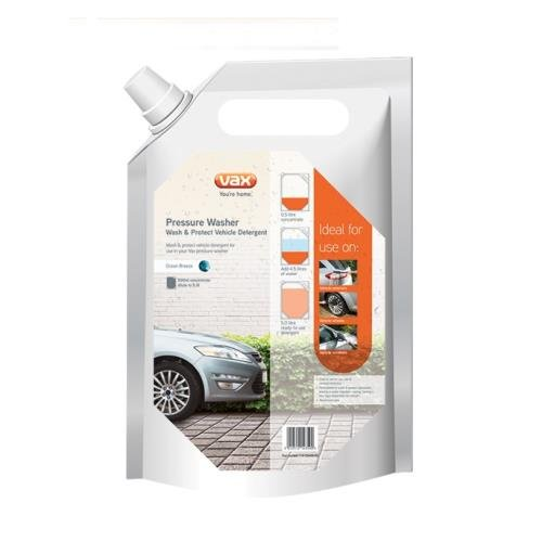 Vax 1-9-133400-00 Wash/ Protect Vehicle Pressure Washer Detergent