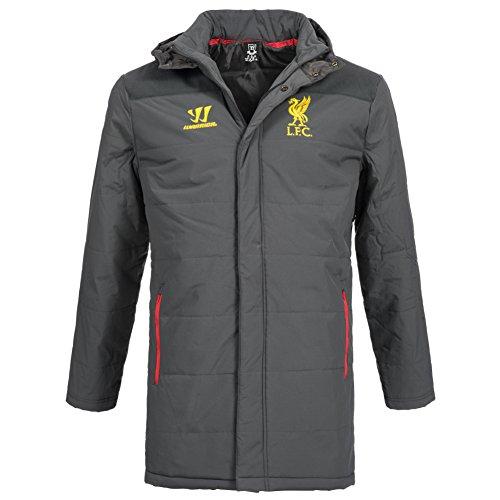 2014-15 Liverpool Warrior Stadium Jacket (Grey)