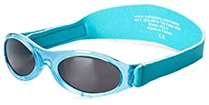 Baby Banz Adventure Sunglasses, Caribbean Blue, 0-2 Years, 1-Pack