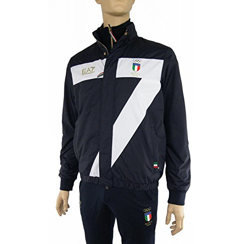 Giubbotto uomo EA7 Emporio Armani, olympic team art: 271727 6P907 (3XL)