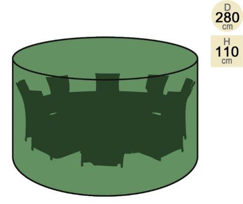 Primrose Abdeckung für runden Tisch mit 8 Stühlen – Premium günstig bestellen