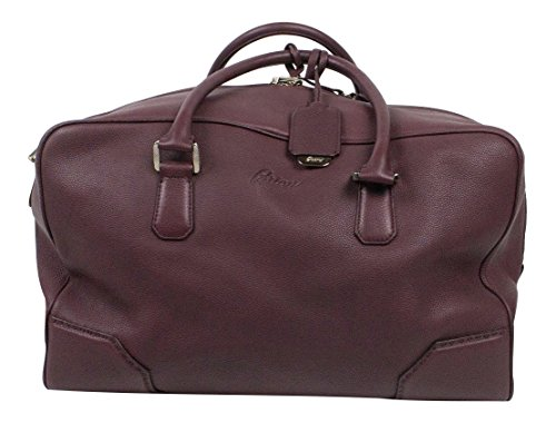 brioni-oxblood-purple-pebbled-leather-shoulder-duffler-weekender-bag