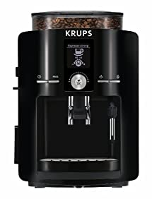 KRUPS EA8250001 Black Espresseria Full Automatic Espresso Machine