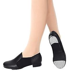 Neoprene Insert Adult Tap Shoes,T9100TAN04.5,Tan,04.5