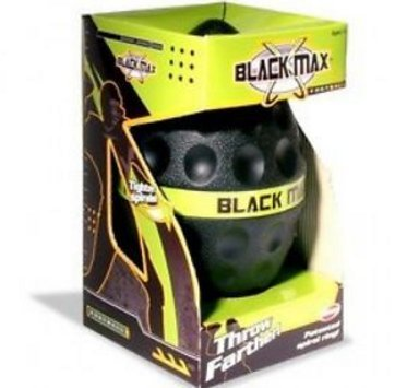 BEST PRICE New Black Max Football, Soft, Safe and Fun (Head Referee Costume)